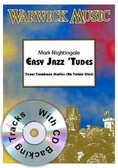 Nightingale Easy Jazzy 'Tudes (tbn treble clef)