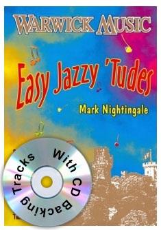 Nightingale Easy Jazzy 'Tudes (treble clef brass)