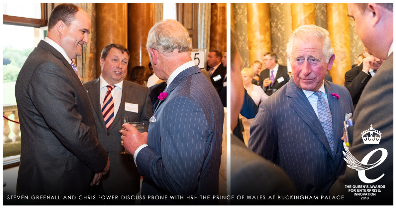 Queens Award 2019 Prince Charles Buckingham Palace-1